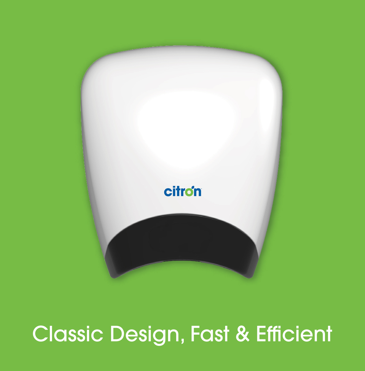 Automatic commercial hand dryers from Citron Hygiene: Airelle