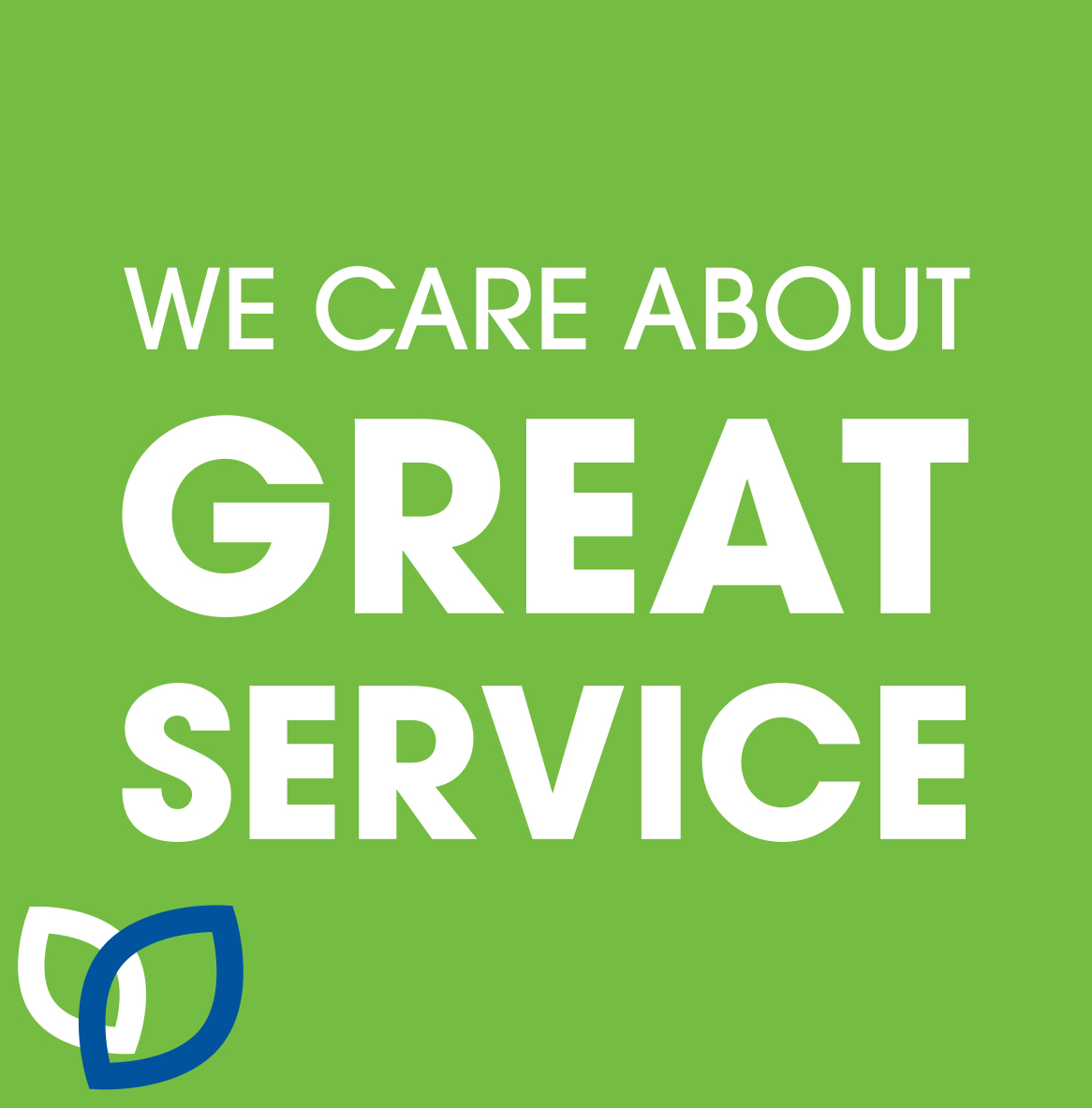 We care about great service - dental services