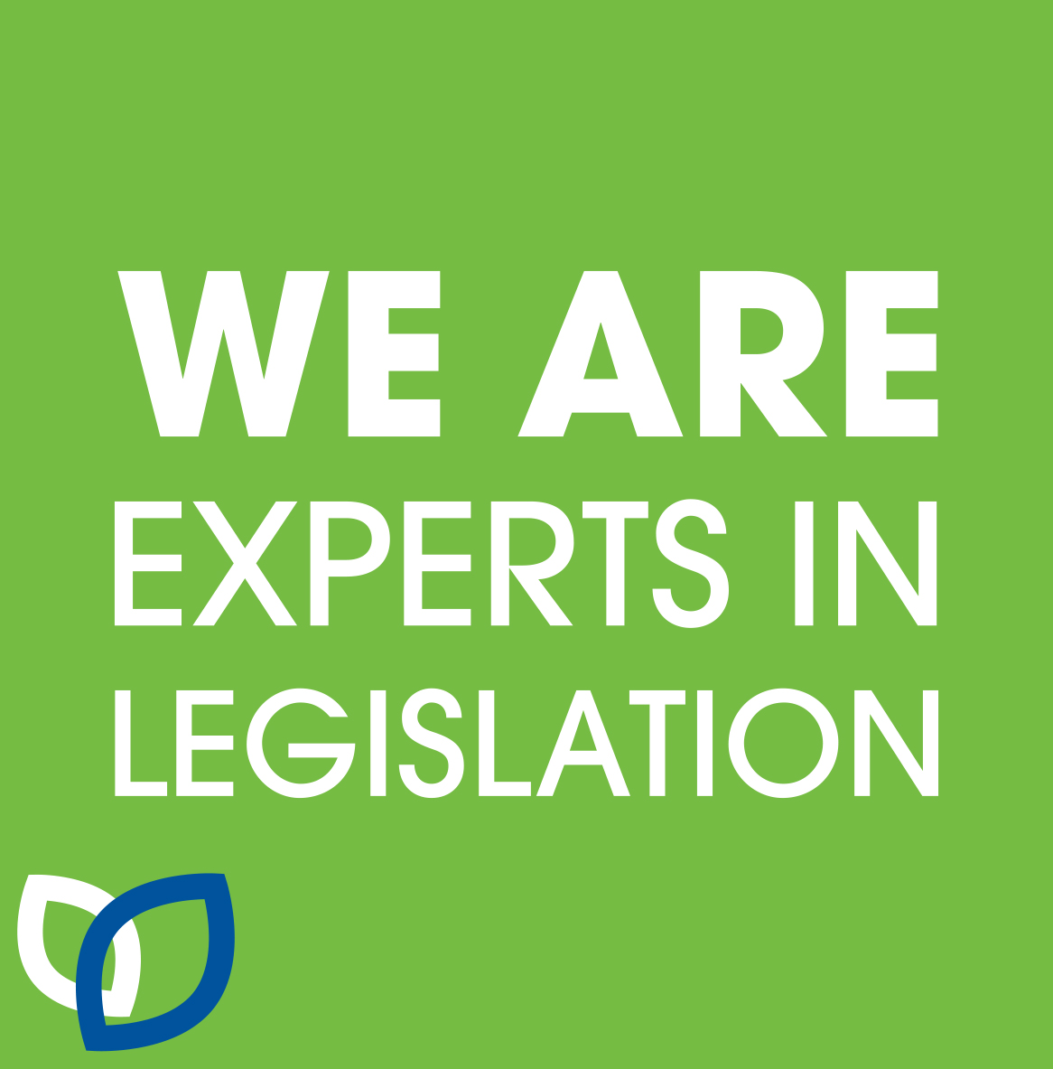 We are experts in Legislation - waste disposal