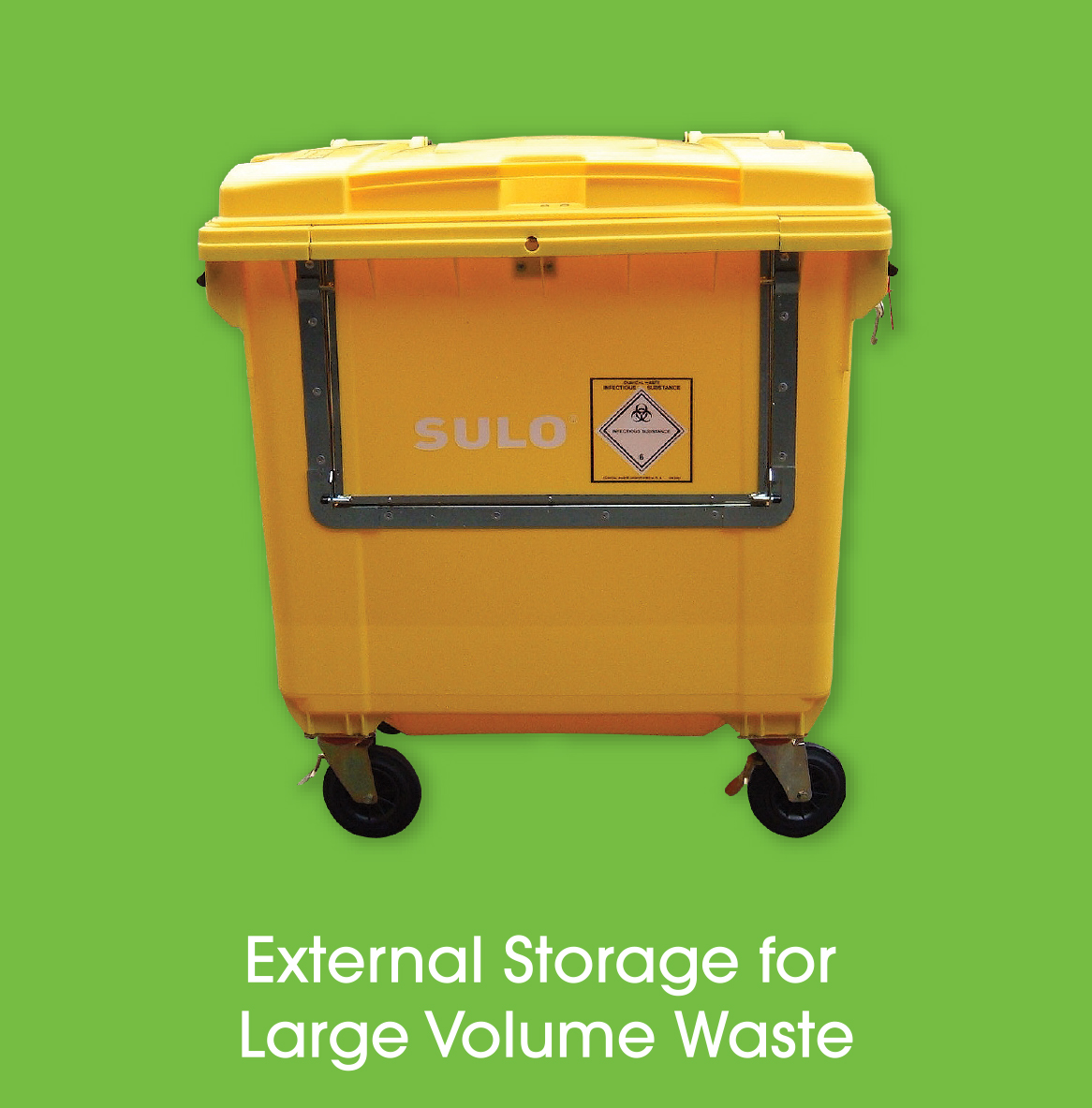 Offensive Waste Trolley - Offensive Waste Disposal